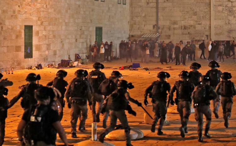 Napad kod džamije nakon iftara