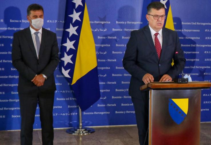 Fadil Novalić i Zoran Tegeltija