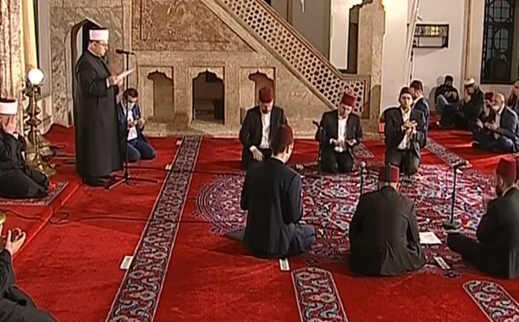 Sa centralne svečanosti u Begovoj džamiji