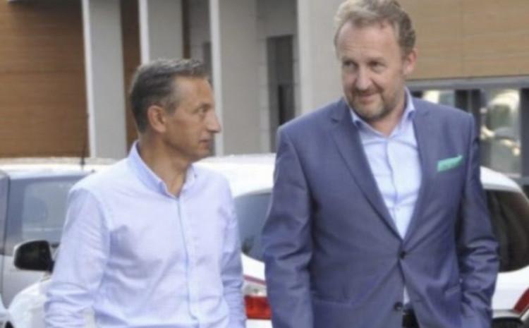 Mehmedagić sa svojim političkim zaštitnikom Izetbegovićem