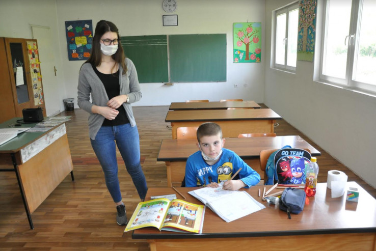 Marković s nastavnicom Lujić: Jedini učenik