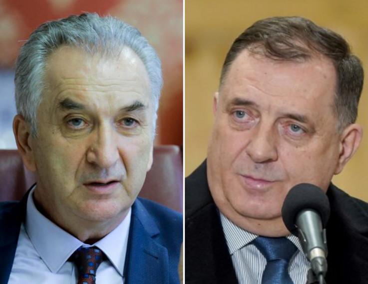 Mirko Šarović i Milorad Dodik