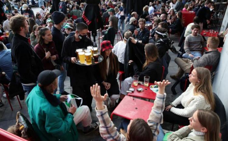 Slavlje na ulicama Brisela