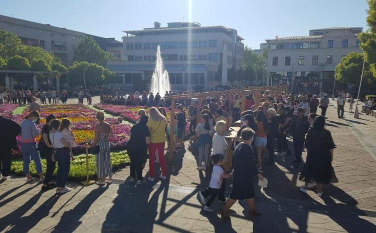 Danas na Trgu nezavisnosti