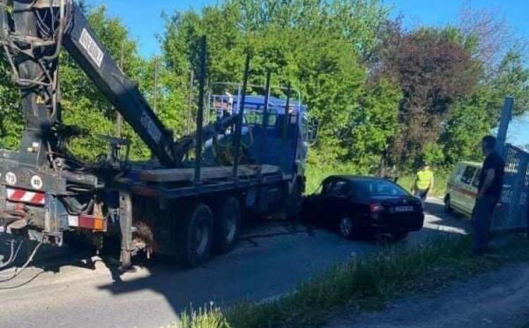 Fotografija sa mjesta nesreće