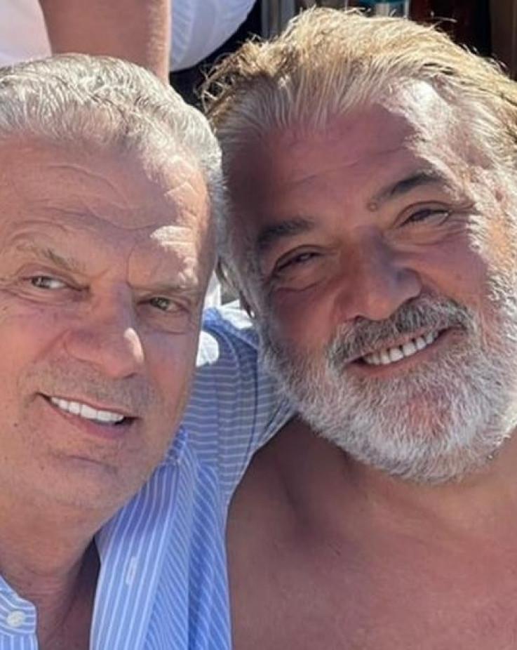 Fahrudin Radončić i Boba Živojinović