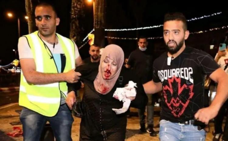 U napadu izraelske policije povrijeđene žene i djeva