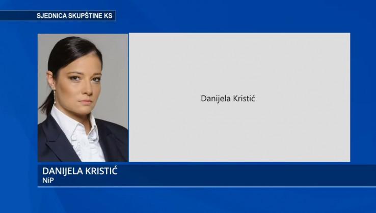 Zastupnica Danijela Kristić
