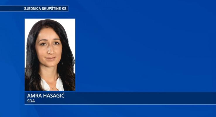 Zastupnica Amra Hasagić