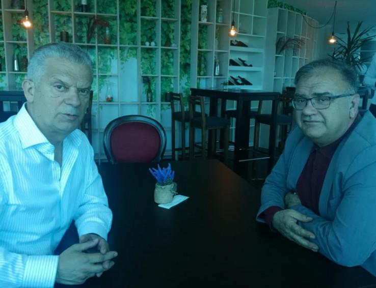 Radončić i Ivanić na sastanku
