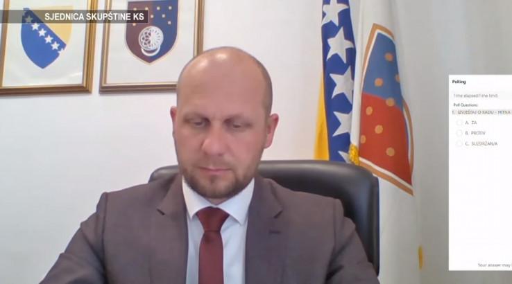 Predsjedavajući Skupštine KS Elvedin Okerić