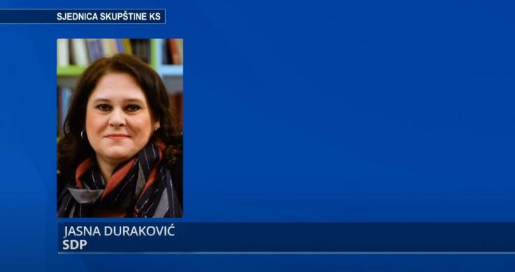 Zastupnica Duraković Jasna