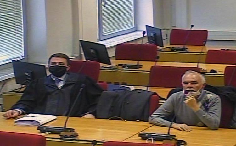 Sudija Špoljarić s advokatom Pizovićem