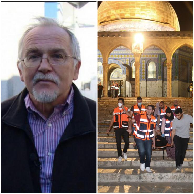 Zečević: Napad na civile Palestince je kontinuiran
