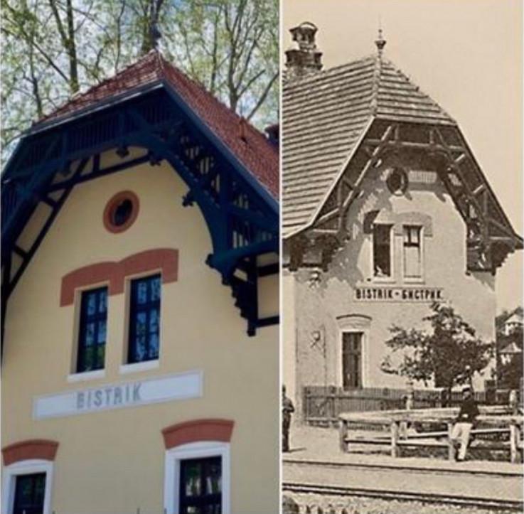 Stara željeznička stanica na Bistriku