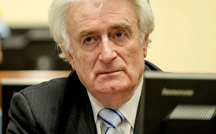 Karadžić: Osuđen na doživotnu robiju
