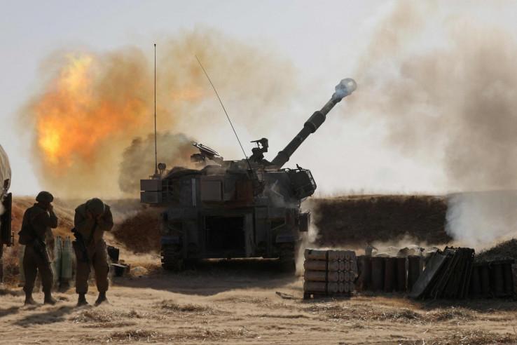 Izraelska artiljerija dejstvuje po Gazi