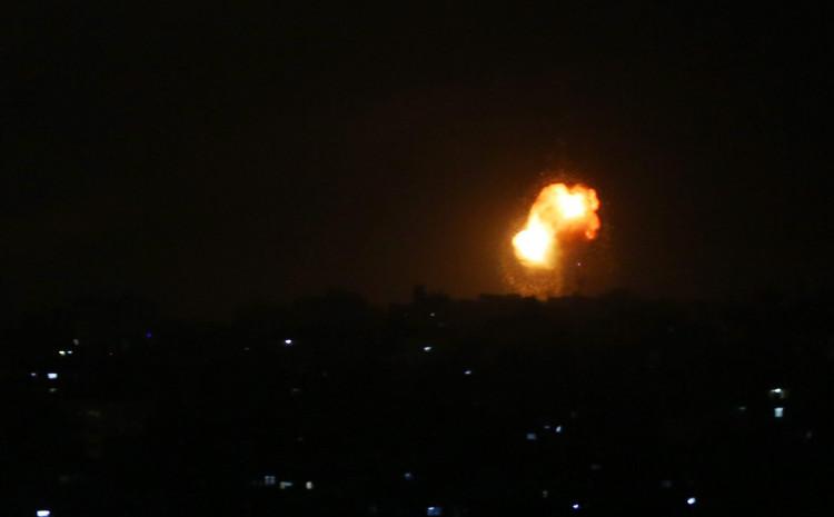 Izrael je danas podvrgnuo Gazu najtežem bombardiranju dosad