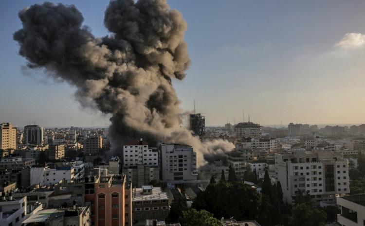 Izraelski napadi na Gazu