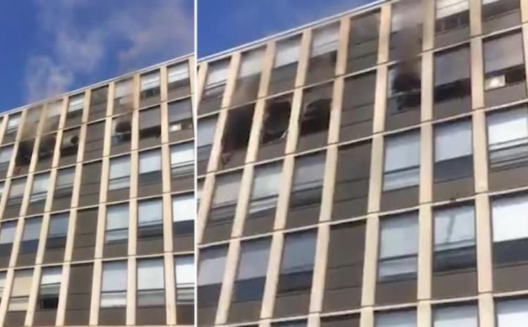 Jedan od vatrogasaca koji su gasili požar je uspio da pronađe njenog vlasnika