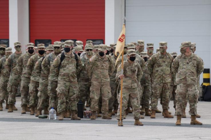 Vojnici SAD na sarajevskom aerodromu