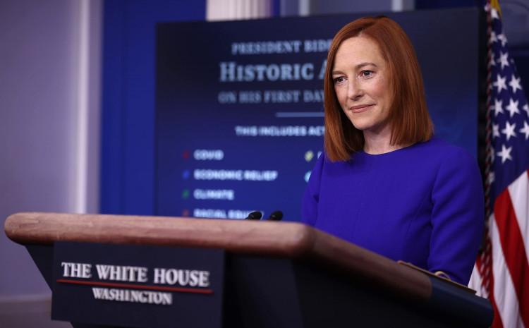 Glasnogovornica Bijele kuće Jen Psaki