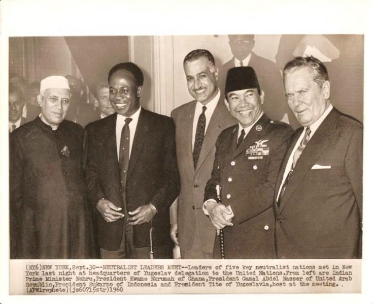 Fotografija sa sastanka lidera 1960. godine