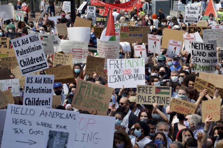 Protesti u Bostonu