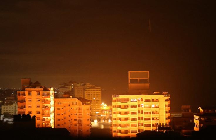 Trenutak eksplozije u Gazi