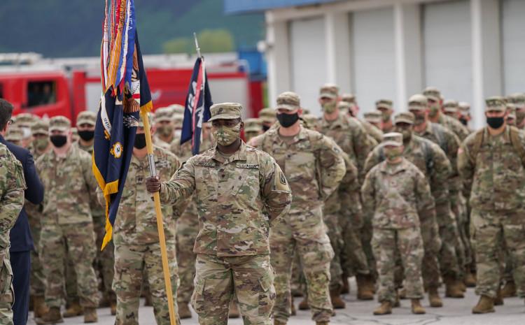 Američki vojnici na sarajevskom aerodromu