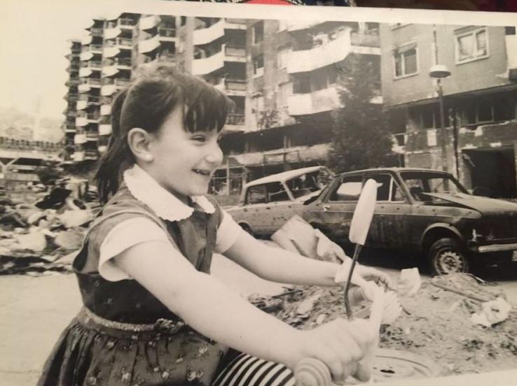 Odrasla u ratnom Sarajevu