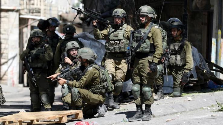 Vojska Izraela na ulicama Jerusalema