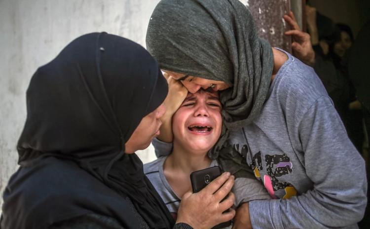 Suze djece Gaze obilaze svijet