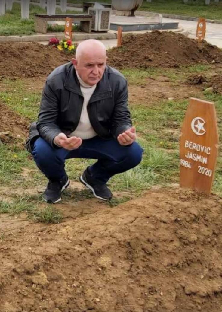 Nazim Berović obišao mezan nastradalog sina