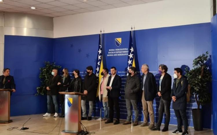 S današnje press-konferencije