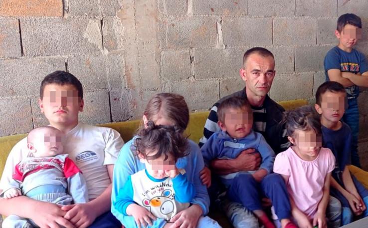 Otac Asmir ostao da se bori sa 9 male djece