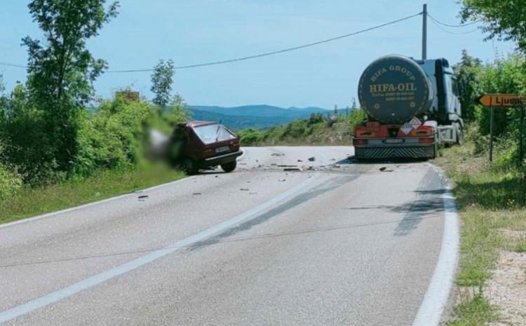 Nesreća na putu Stolac - Neum