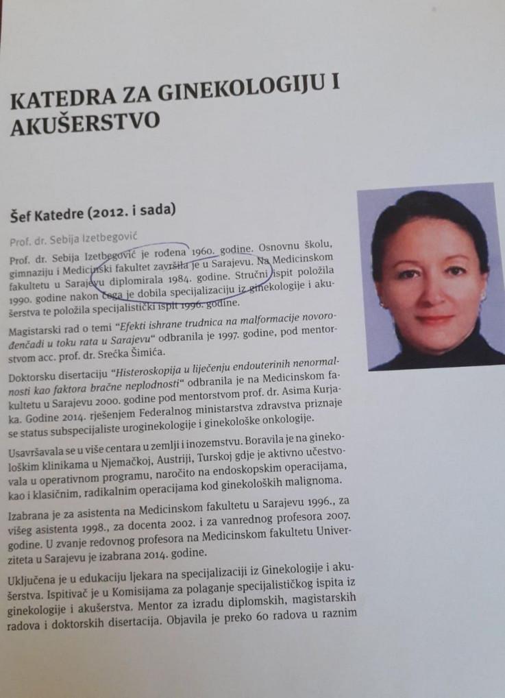 Šta piše u Almanahu Medicinskog fakulteta u Sarajevu
