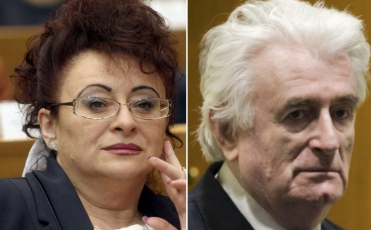 Sonja i Radovan Karadžić