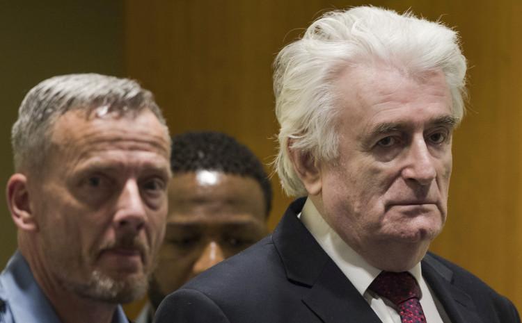 Karadžić: Nalazi se u zatvoru u Engleskoj