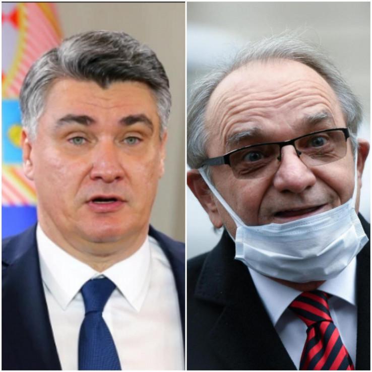 Milanović vratio ratna odličja Branimiru Glavašu
