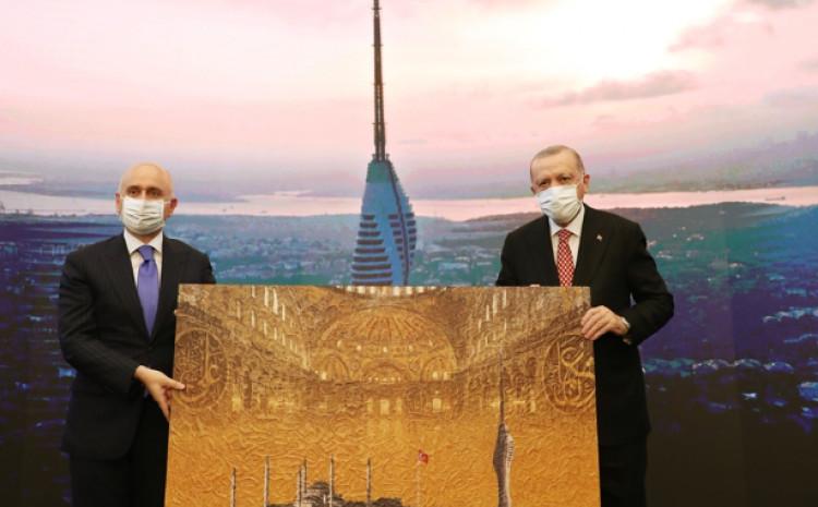 """Erdoan otvorio toranj """"Camlica"""", najvišu građevinu Istanbula"""