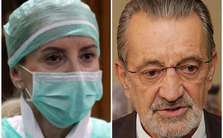 Sebija Izetbegović i Bakir Nakaš