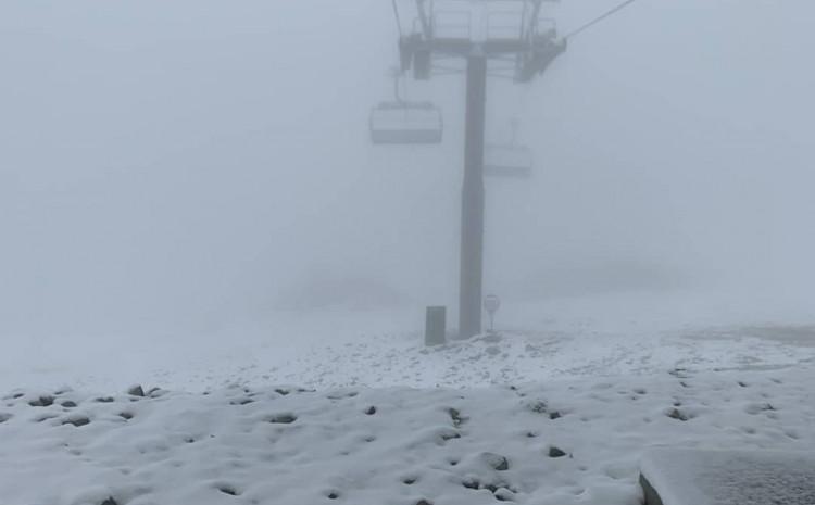 Bjelašnica pokrivena snijegom