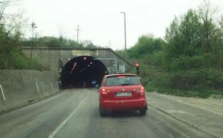 Nema saobraćaja kroz tunel Čaklovići zbog sanacije