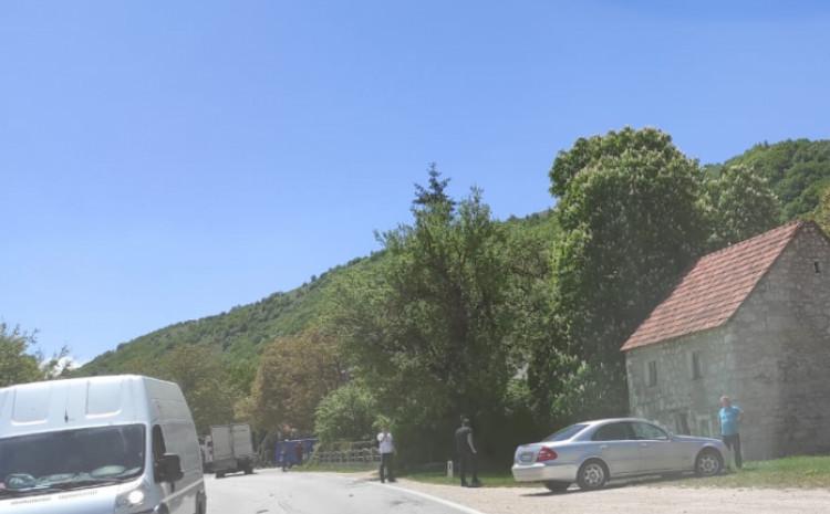 Detalj s  mjesta nesreće