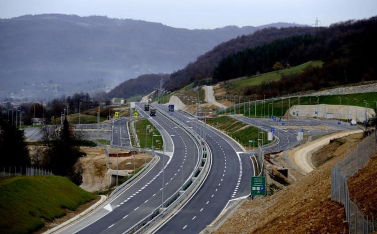 Usporen saobraćaj na autoputu A1