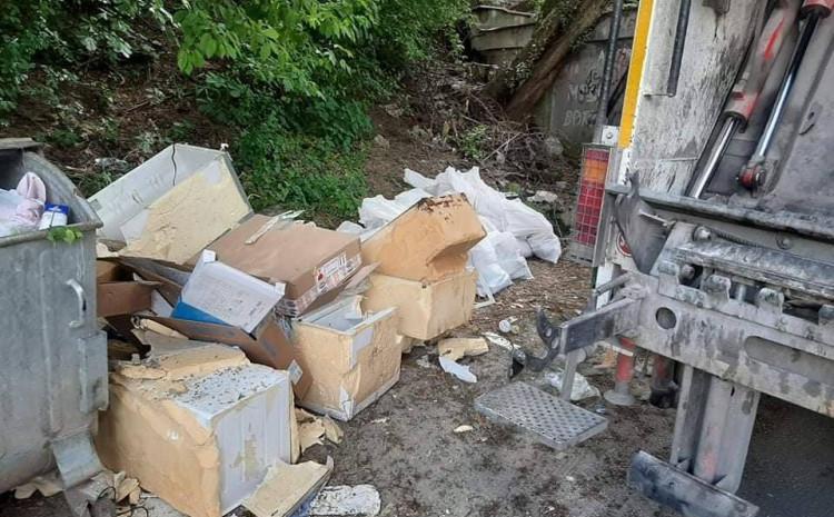 Građani pored smeća i kontejnera ostavljaju i građevinski otpad