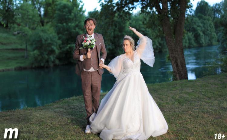 """NAJNABILDANIJA"" svadba na BALKANU: Damir iz ""Lud, zbunjen, normalan"" oženio influenserku!"
