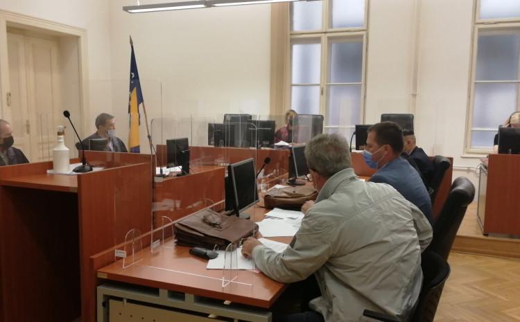 Detalj s današnje sjednice u Općinskom sudu Sarajevo